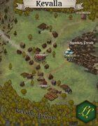 """""""Kevalla"""" Vally Village Map"""