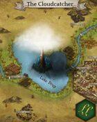 """The Cloudcatcher"" Scenery City Lake Map"