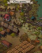 """Gyllensyl"" Coastal Swamp Town Map"