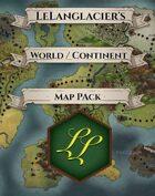 World / Continent Map Bundle [BUNDLE]