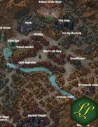 """Treavarsa"" Mountain Traverse City Map"