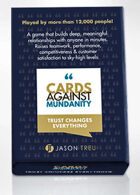 Cards Against Mundanity - Teamwork & Culture Building Game