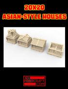20x20 Asian-Style House