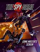 The Spy Game GM Screen and Booklet