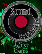 The Sound Cypher: Artist Cards (2021)