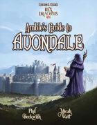 Rex Draconis RPG: Amble's Guide to Avondale (PF)