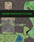 Swamp Ruins Battle Map