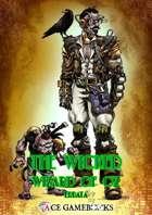 The Wicked Wizard of Oz - Errata