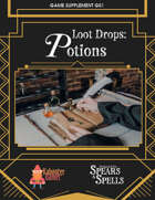 Loot Drops: POTIONS for Spears & Spells