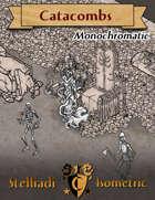 Stelliadi Isometric Pack #49: Catacombs (Monochromatic)