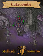 Stelliadi Isometric Pack #49: Catacombs (Colored)