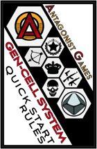 Gen-Cell System (™) Quickstart Rules