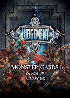 Judgement Monsters - Patch 9