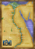 Carte d'Egypte ancienne
