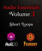 RPG Ambiences Short Loops, Roll20 Compatible, Vol. 3