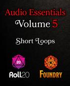 RPG Ambiences Short Loops, Roll20 Compatible, Vol. 5