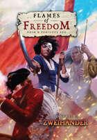 FLAMES OF FREEDOM Grim & Perilous RPG: Core Rulebook – Powered by Zweihander RPG