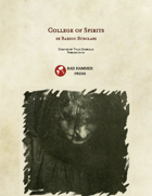 College of Spirits -- 5e Bard Subclass (legacy)