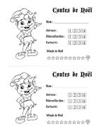 Contes de Noel - Feuille de personnage