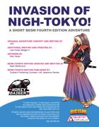 Invasion of Nigh-Tokyo! - Adventure Scenario (BESM Fourth Edition)