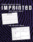 Fillable Imprinted Character Sheets