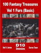 100 Fantasy Treasures - Vol 1 Furs (Basic)