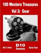 100 Western Treasures - Vol 3: Gear