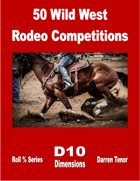 50 Wild West Rodeo Competitions