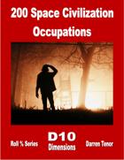 200 Space Civilization Occupations