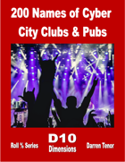 200 Names of Cyber City Clubs and Pubs