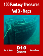 100 Fantasy Treasures - Vol 3 Maps