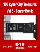 100 Cyber City Treasures - Vol 5: Bearer Bonds