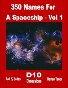 350 Names for a Spaceship - Vol 1