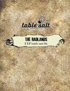 3' x 3' battle mat file:The Badlands