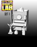 15mm Cyberpunk Scifi City Terrain Pack 1 3D Files
