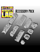 15mm Cyberpunk Scifi City Accessory Pack 3D Files