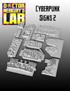 15mm Cyberpunk Scifi City Accessory Pack 2 3D Files