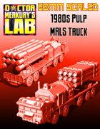 28mm MRLS Truck Missile Rocket Scud