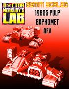 28mm Scale 1980s Pulp Baphomet AFV