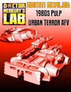 28mm Scale 1980s Urban Terror AFV