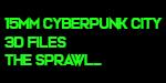 15mm Cyberpunk City