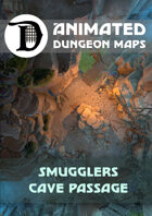 Animated Dungeon Maps: Smugglers Cave Passage