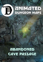 Animated Dungeon Maps: Abandoned Cave Passage