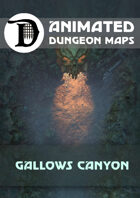 Animated Dungeon Maps: Gallows Canyon