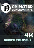Animated Dungeon Maps: Buried Colossus 4k