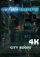Cybermaps: City Roofs 4k