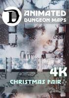 Animated Dungeon Maps: Christmas Fair 4k
