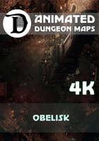 Animated Dungeon Maps: Obelisk 4k