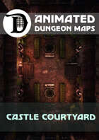 Animated Dungeon Maps: Castle Courtyard
