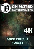 Animated Dungeon Maps: Dark Fungus Forest 4k